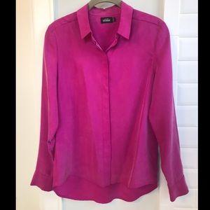 Stylish bright pink Kate Spade Blouse 👚